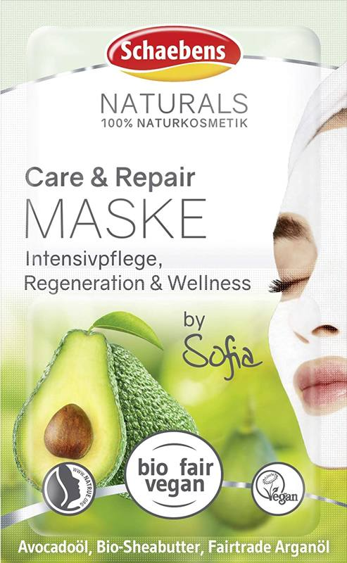 Produktfoto: Schaebens Naturals Care & Repair Maske by Sofia, 2x5ml